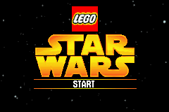 LEGO Star Wars - The Video Game Title Screen